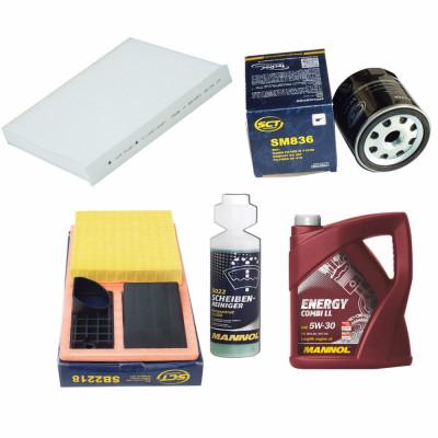 Inspektionspaket Filteristen Pollenfilter SCT Luftfilter /Ölfilter Geschenk